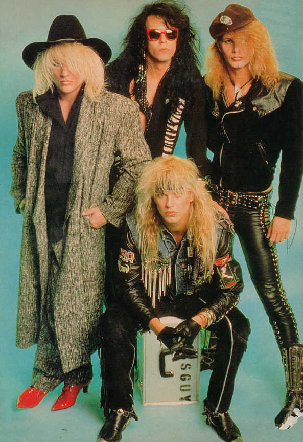 Pictures of poison the rock band